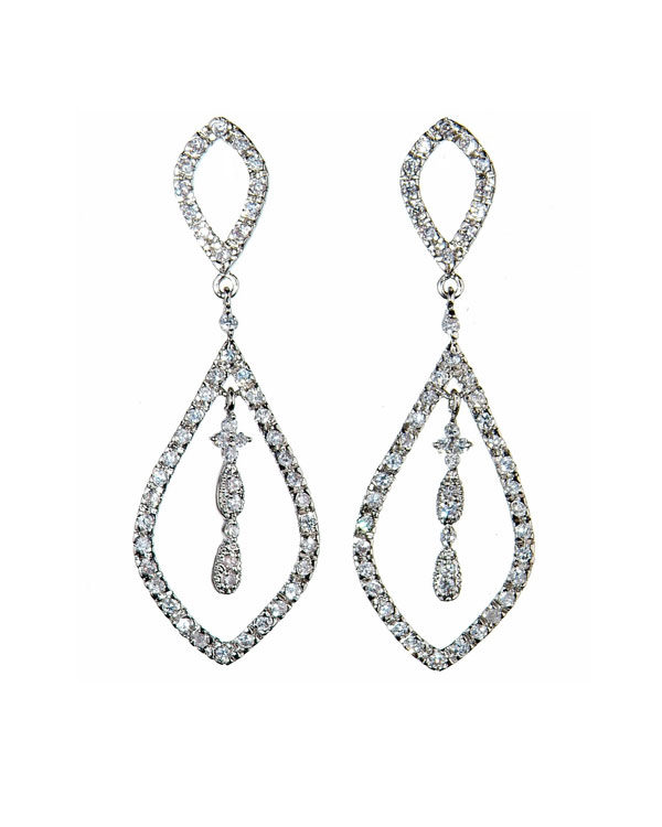 glacier chandelier earrings