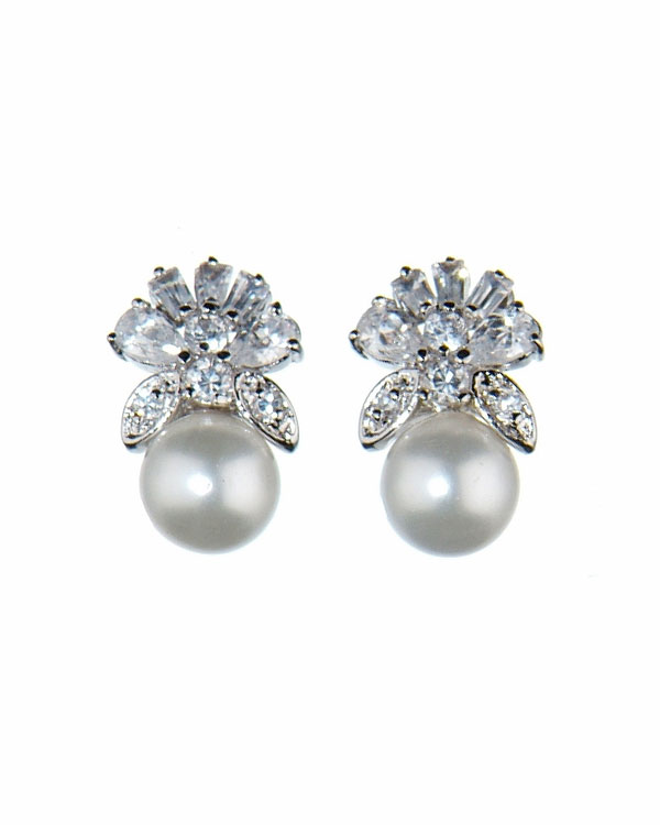 majestic pearl earrings