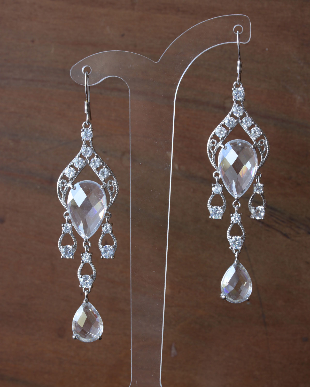 EA01-018 Morroccan chandeleir earrings
