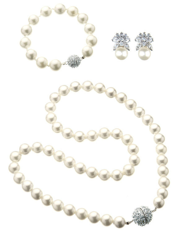 majestic pearl set white