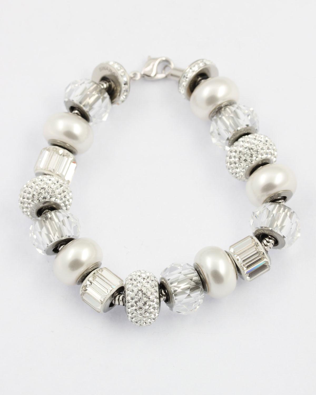 swarovski pave bracelet