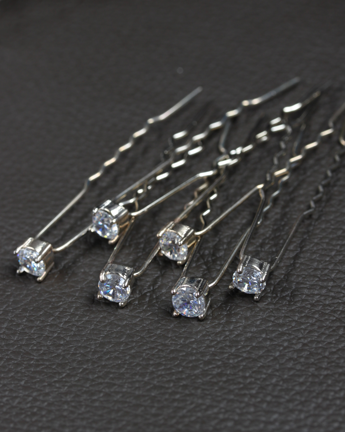 hair pin cubic zirconia