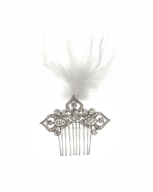 taj feather haircomb
