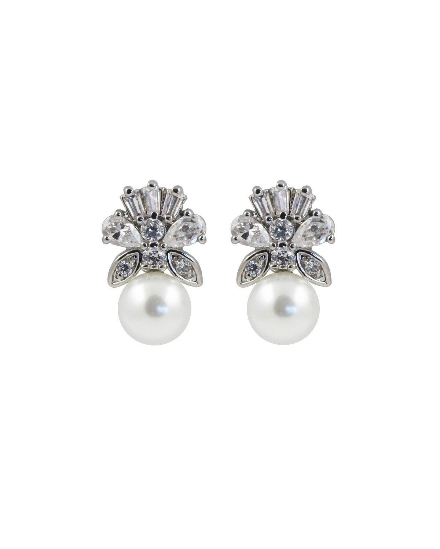 Prive Bridal Majestic pearl earrings