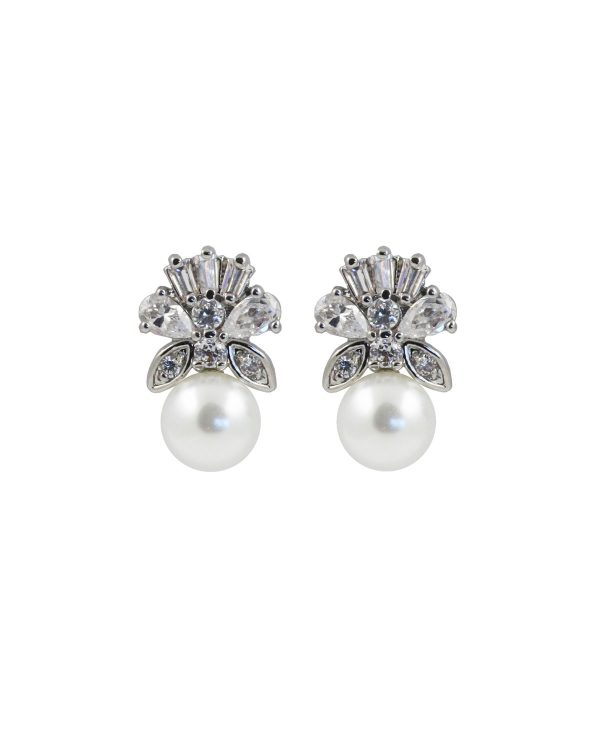 Prive Bridal Majestic pearl earrings