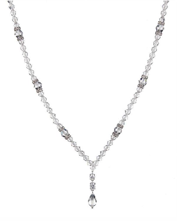 supreme swarovski necklace