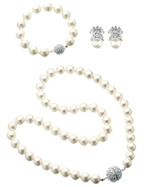 majestic pearl set white
