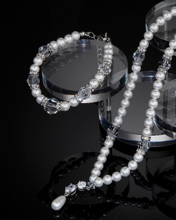 Supreme Swarovski Set-Pearls